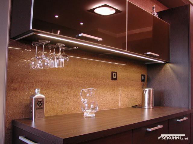 Верхняя подсветка для кухни