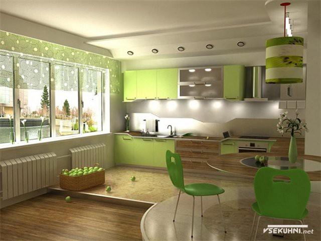 Подсветка для кухни рабочей зоны точечным светом