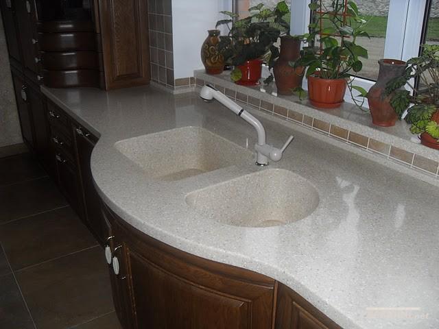 Кухонные мойки из искусственного камня - акрила