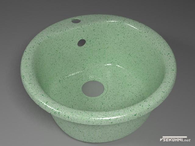 Кухонные мойки из искусственного камня - агломерата