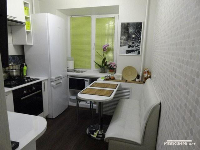 Идеи дизайна кухни 5 кв.м