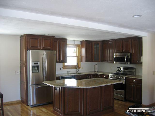 Модульная мебель для кухни столплит