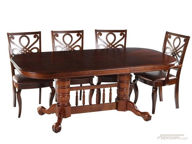 Столы для кухни овальные со стульями