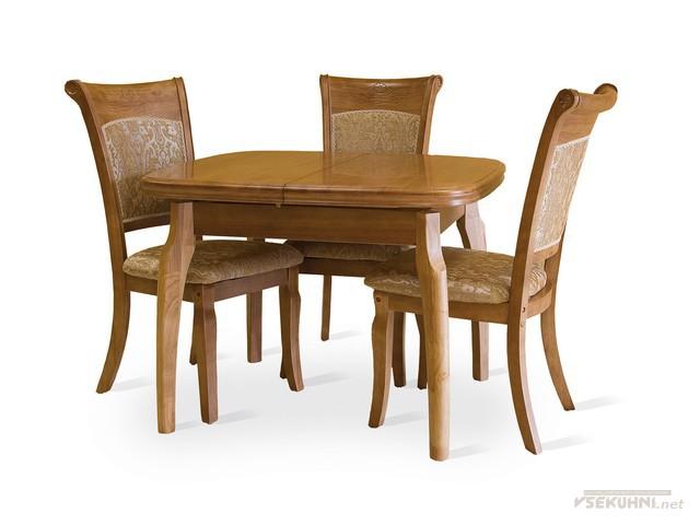 Столы для кухни овальные на трех персон