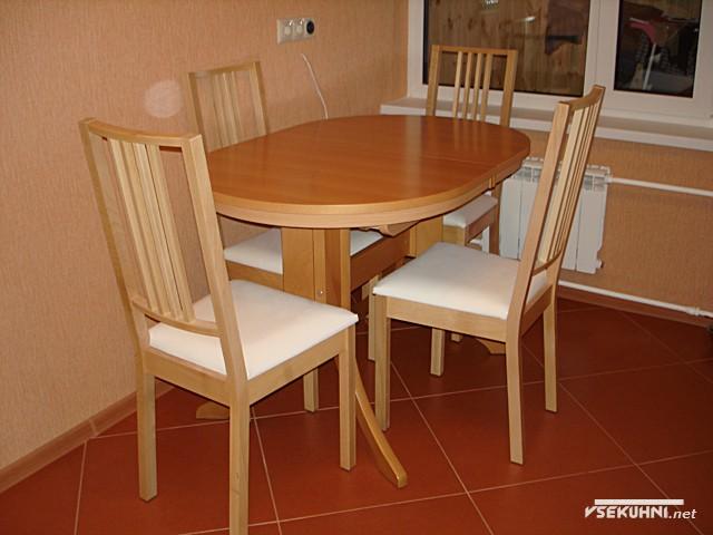 Столы для кухни овальные на 4 человек