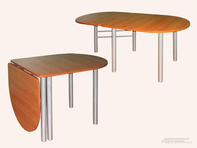 Овальный стол на кухню раскладной