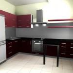 Хромированные полки для кухни