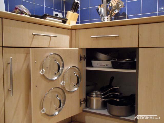 Выдвижная полка для кухни