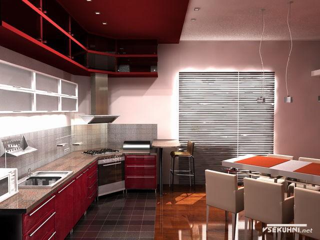 Угловая мебель для кухни в современном стиле