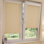 Рулонные тканевые жалюзи на пластиковые окна