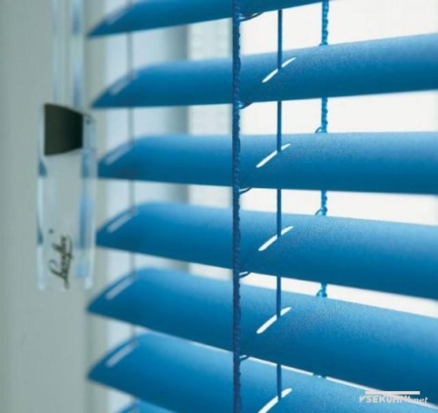 Металлические (алюминиевые) жалюзи для пластиковых окон