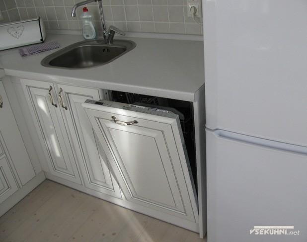 Встроенная бытовая техника на кухне 6 кв м