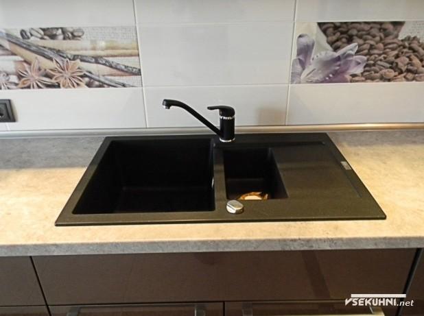 Мойка на кухне 23 кв м - фото