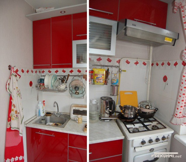 Дизайн кухи 6 кв м в хрущевке