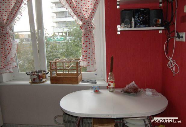 Стол на кухне 6 кв м в хрущевке