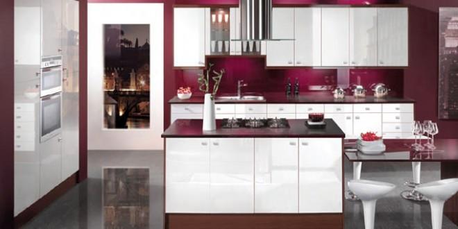 Кухни в стиле модерн