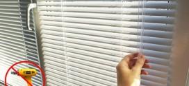Жалюзи на пластиковые окна без сверления